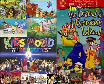 Kids World in the Wacky Adventures of Ronald McDonald- The Legend of Grimace Island