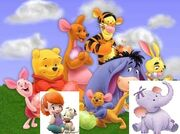 The Winnie The Pooh Gang