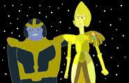 Thanos and Diamond
