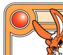 Orange Hypnotic Bunny