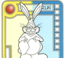 Yellow/Blue Gleeful Bunny