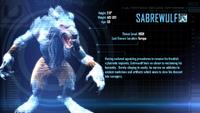 Sabrewulf Arcade Bio