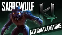 KI 2013 Sabrewulf Alternate Costume