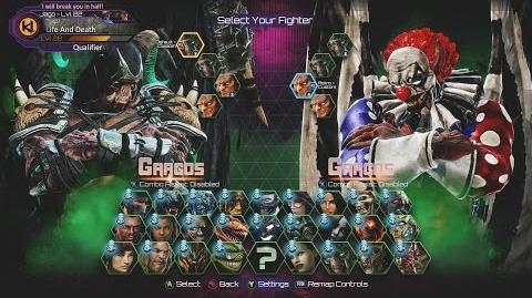 Killer Instinct - Aria Announcer - All Character Select Screen Animations (1080p 60FPS)