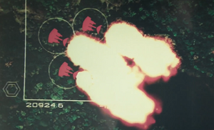 Tactical Scan of a Defoliation Mission