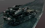1200x739 5122 Helghast Light tank 3d sci fi rocket tank picture image digital art