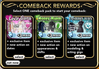 Comeback Rewards
