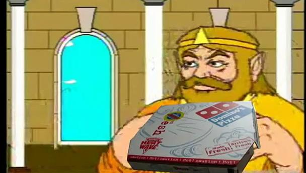 Youtube Poop King wants Pizza, and suffers a heart attack.-0