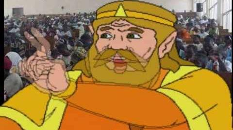 Youtube Poop King Harkinian is Attacked by an Army of Angry Black Men