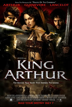 Movie poster king arthur