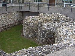 Hampshire winchester-ruinsofcastlefoundations2