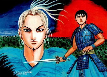 Shin and Ri Boku colored gallery