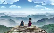 Kyou Kai And Shin Gazes Upon The Mountain Ranges anime S1