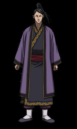 Kyou En Character Design anime S2