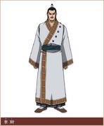 Ri Shi Character Design anime S1