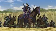 Kyou En's War Horse anime portrait