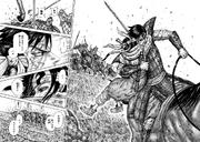 Shin Saves Kyou Kai From Kei Sha's Men