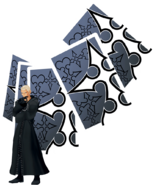 Luxord KHII Action