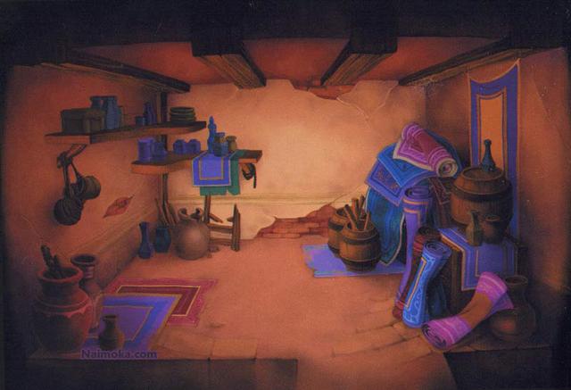 File:Agrabah- Storage Room (Art) KH.png