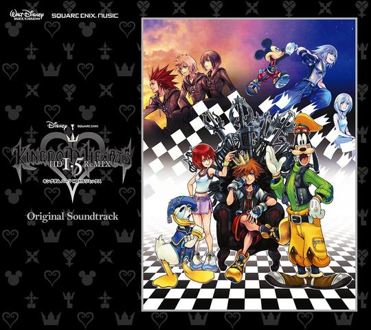 File:Kingdom Hearts HD 1.5 ReMIX Original Soundtrack Cover.png