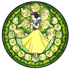 Station of Awakening- Snow White (Art) KH