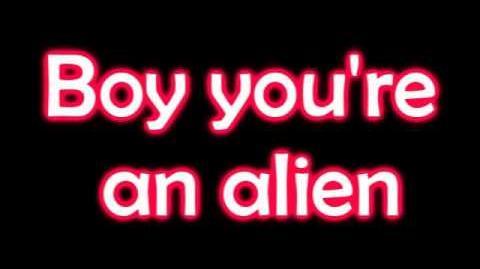 E.T katy perry lyrics