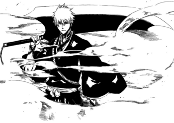 Ichigo new shinigami