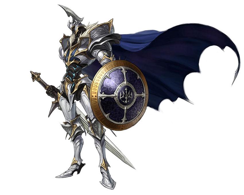 the white demon knight - photo #6