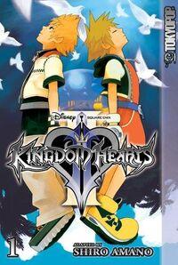 KingdomHeartsII-manga cover