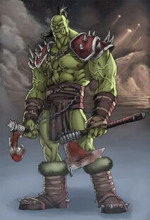 Orc wow by deffectx600 878