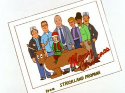 Strickland Propane Christmas Card