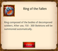 Ring of the Fallen