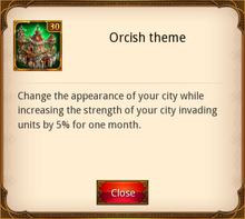 Orcish Theme