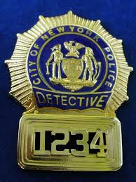 Detective (nypd) badge