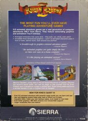 Kings Quest 3 Grey Box B
