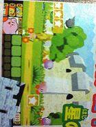 Un anuncio de Kirby 64 en una revista