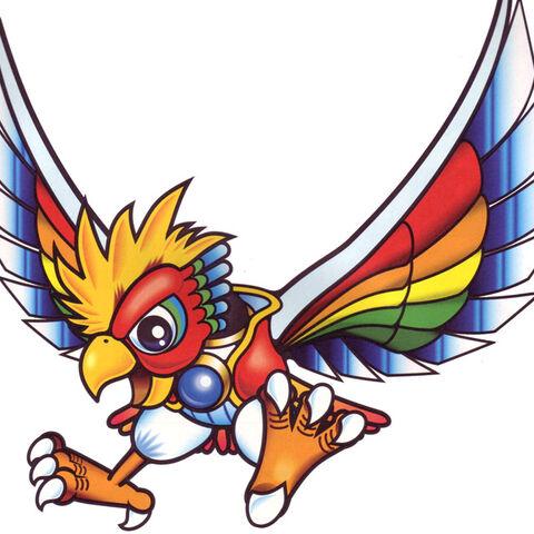 Artwork de Dyna Blade en Kirby Super Star