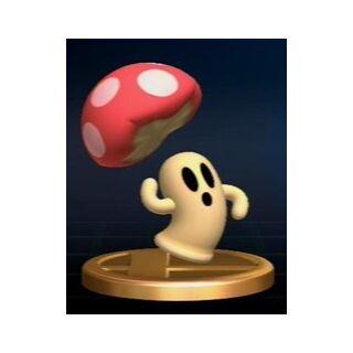 Trofeo de Cappy en Super Smash Bros. Brawl.