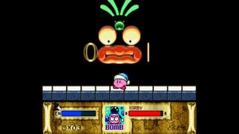 Kirby Superstar Wham Bam Rock