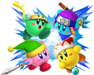 Kirby luchadores