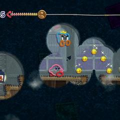 Kirby y Hilván es un pasillo oscuro.