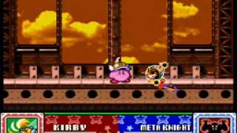 Kirby Super Star, THE ARENA!!! Cutter Kirby