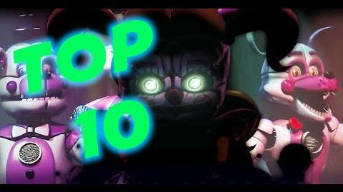 10 Cosas Que No Sabias De Five Night At Freddy's Sister Location Trailer Oficial OsoMistery