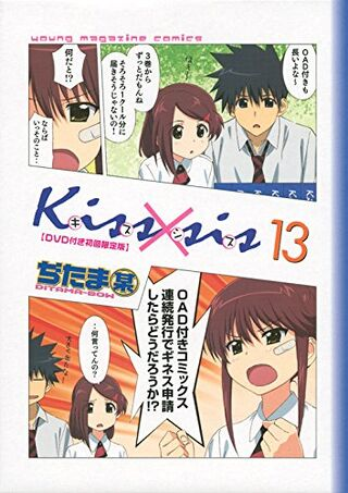 Kissxsis Manga v13 cover