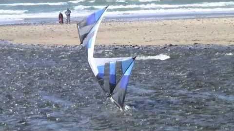 River Play 2010 (Revolution Quad Line Stunt Kite)