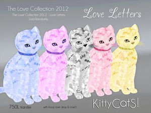 LOVE LETTERS - Love Collections KittyCatS