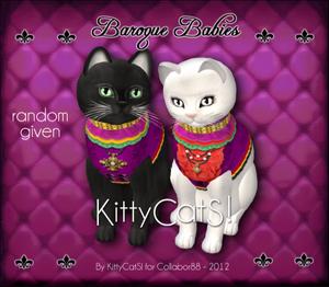 Baroque kittycats ad