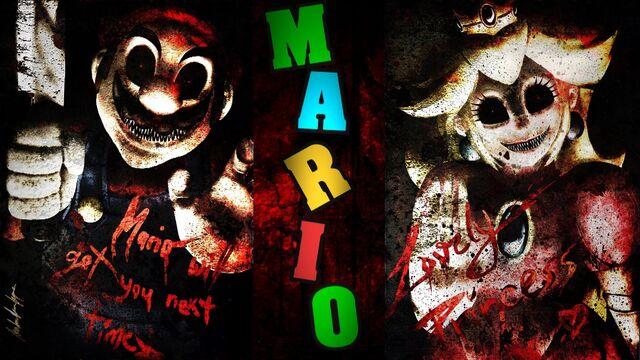 File:Creepy Mario and Peach.JPG