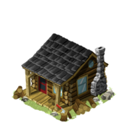 Log cabin house last