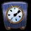 Clock collectable doober